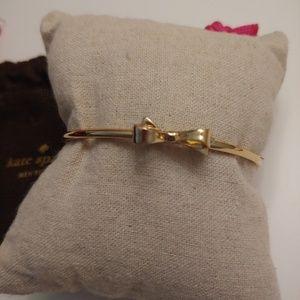 NWOT Kate Spade Gold Bow Bangle